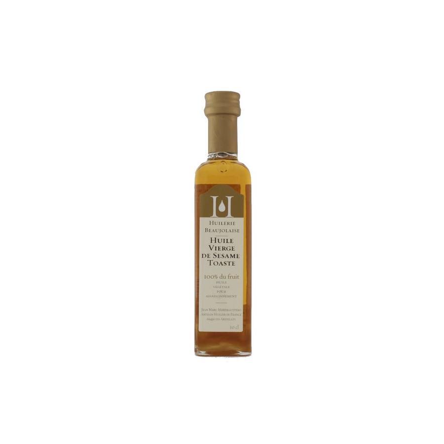 Huiles de noix vierge sésame grillé Huilerie Beaujolaise 100 ml