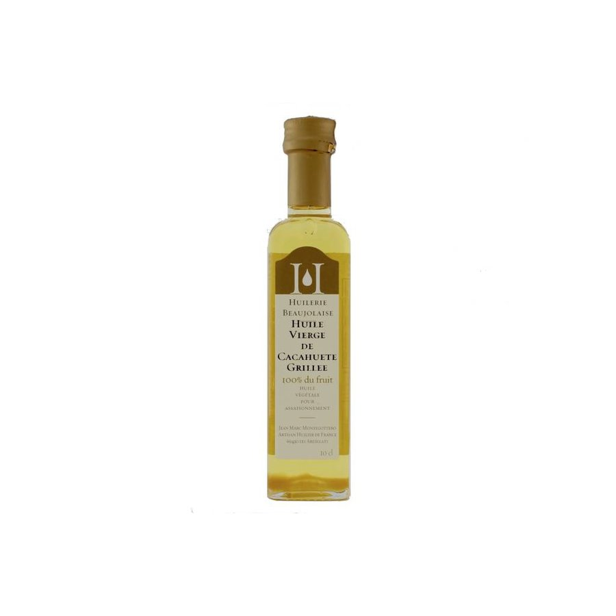 Huilerie Beaujolaise Virgin grilled peanut oil 100 ml