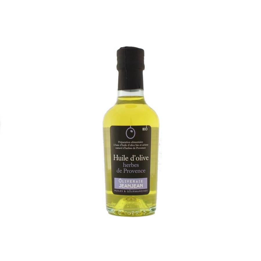 Oliveraie Jean Jean Basil Flavored Organic Extra-Virgin Olive Oil 250 ml