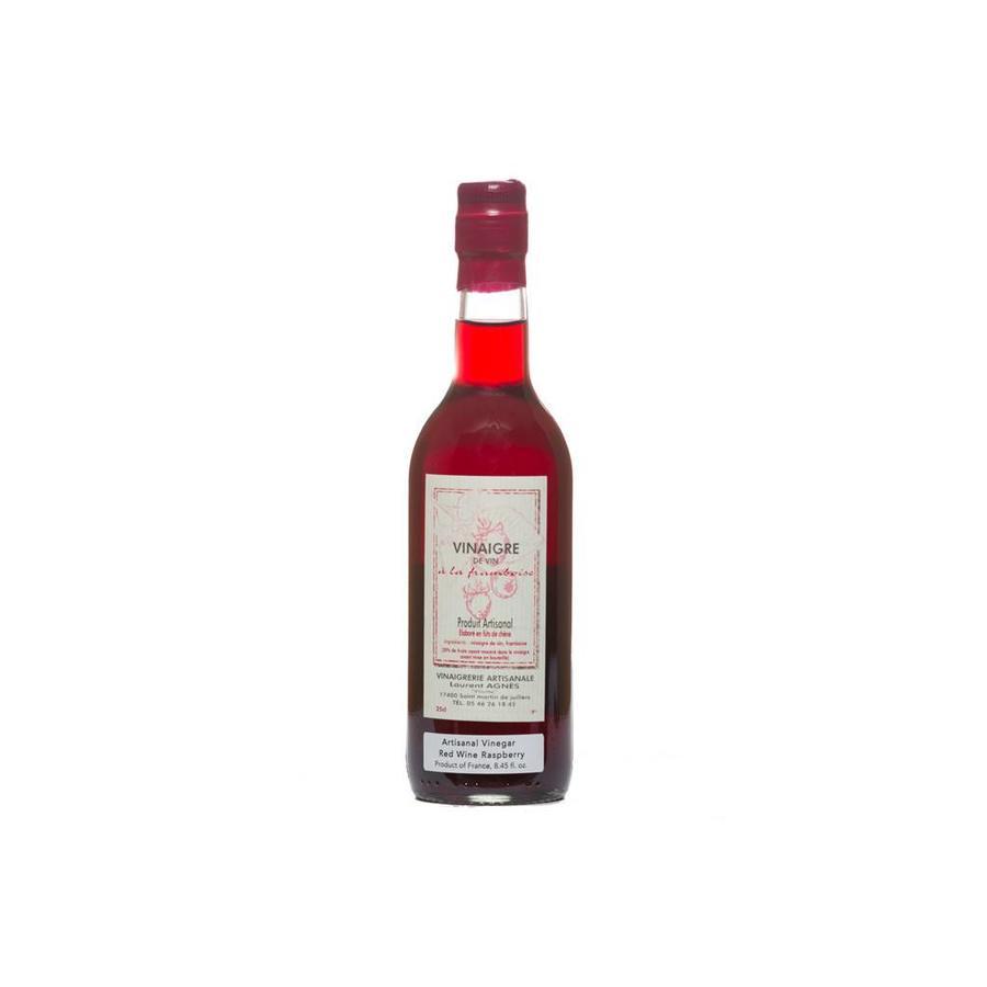 Vinaigre de vin rouge à la framboise Laurent Agnès 250 ml