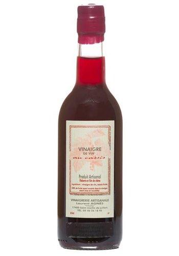 Vinaigre de vin rouge aux cassis Laurent Agnès 250 ml