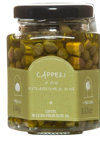 La Nicchia Caper in Extra-Virgin Olive Oil - 100g