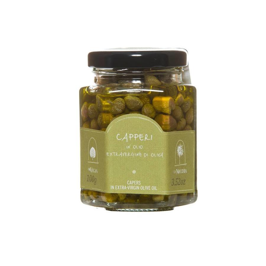 Câpres à l'huile d'olive La Nicchia - 100g