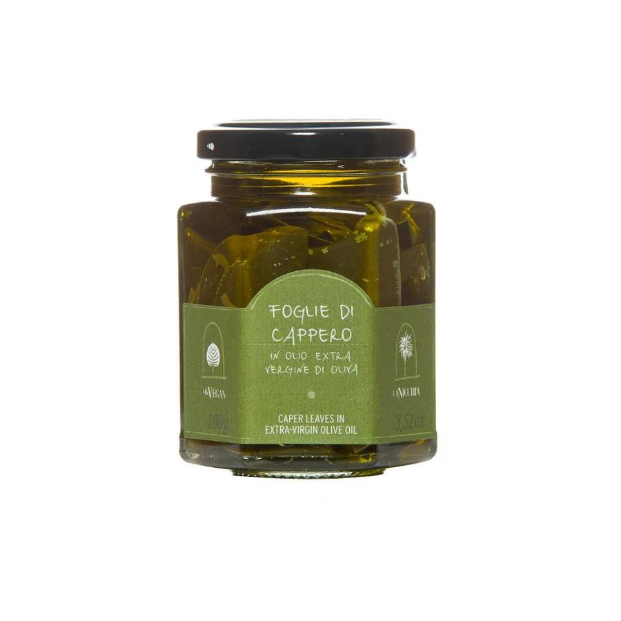 La Nicchia Caper leaves in Extra-Virgin Olive Oil - 100g