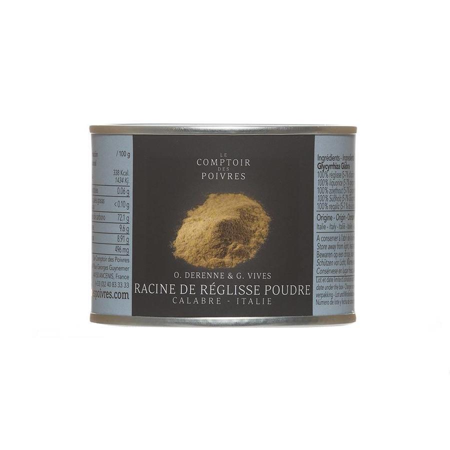 Poudre de racine réglisse  Calabre Italie Le Comptoir des Poivres 50g