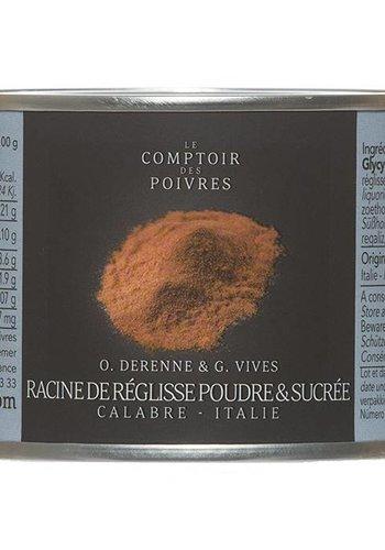 Le Comptoir des Poivres Sweet Licorice Root Powder Italy 50g