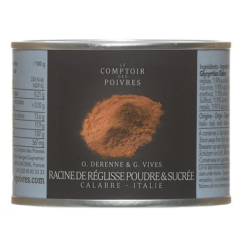 Le Comptoir des Poivres Sweet Licorice Root Powder Italy 50g