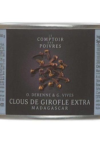 Clous de girofle extra Madagascar Le Comptoir des Poivres 60g