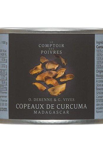 Copeaux de Curcuma Madagascar Le Comptoir des Poivres 40g
