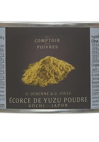 Le Comptoir des Poivres Japan Yuzu Bark Powder 80g