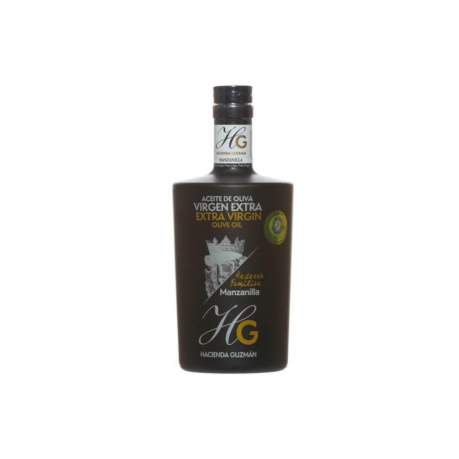 Huile d'olive extra-vierge réserve familiale Guzman - 500 ml