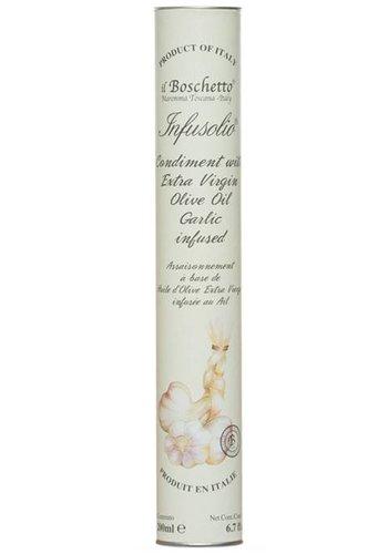 Huile d'olive infusée à l'ail Il Boschetto - 200ml