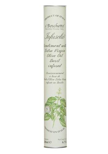 Huile d'olive infusée au basilic Il Boschetto - 200ml