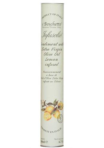 Huile d'olive infusée au citron de Il Boschetto - 200ml