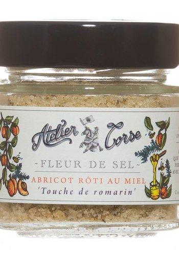 Fleur de sel  abricot rôti au miel Atelier Corse - 90 gr