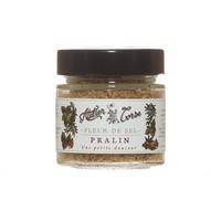 Fleur de sel praline Atelier Corse (amande de Balagne, noisettes de Cervione) - 90 gr