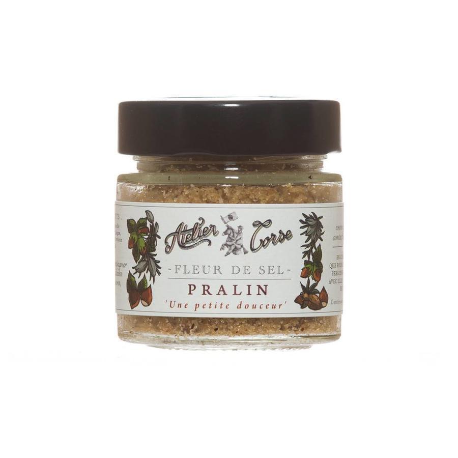 Atelier Corse Praline Salt Flower (Balagne Almond, Cervione Hazelnut) - 90 gr