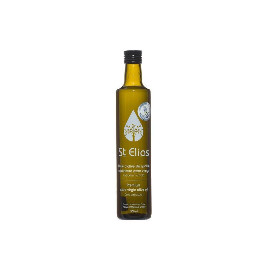 Huile d'olive St Elias 500 ml (koroneiki)