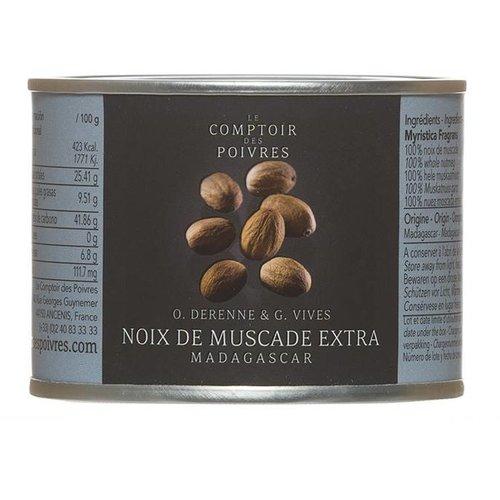 Le Comptoir des Poivres Extra Nutmeg Madagascar 70g
