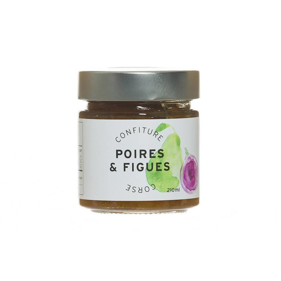 Confiture Poires & Figues Corse - 210 ml