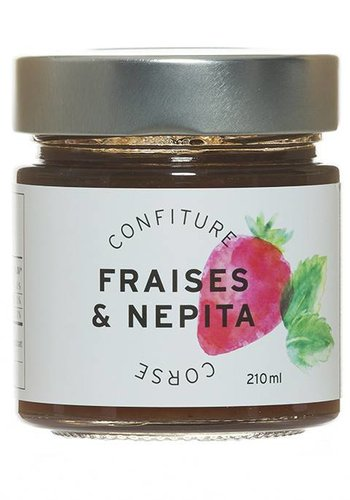 Strawberry & Nepita Corse Jam - 210 ml