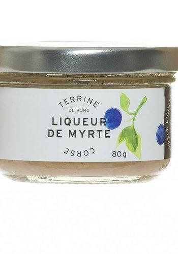 Terrine de porc Liqueur de Myrte Corse 80 g