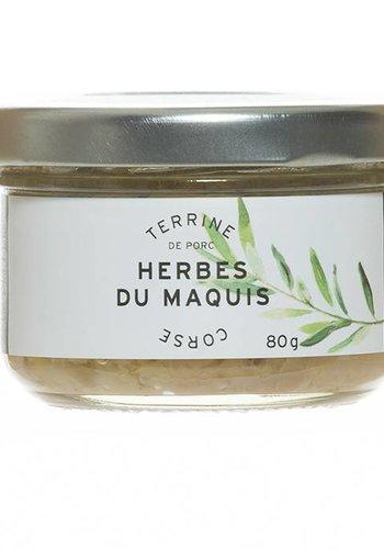 Terrine de porc Herbes Du Maquis Corse 80g