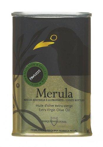 Huile de d'Olive extra-vierge Merula boîte métallique petit format - 175ml