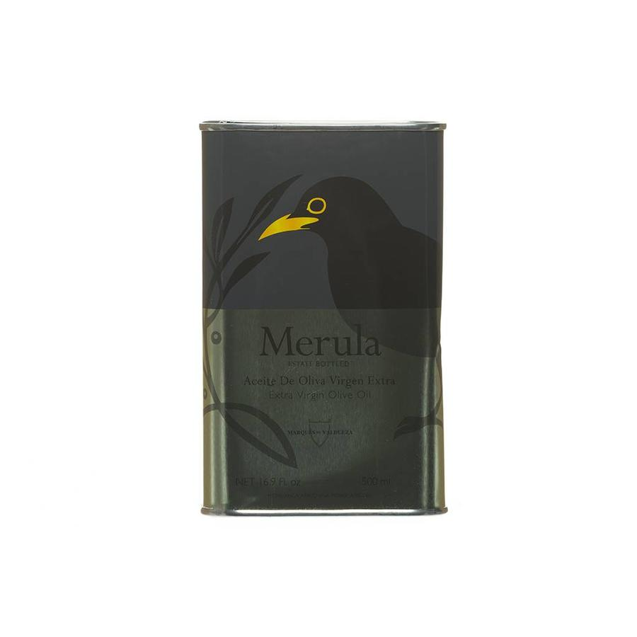 Merula Extra-Virgin Olive Oil Large Metal Can - 500 ml