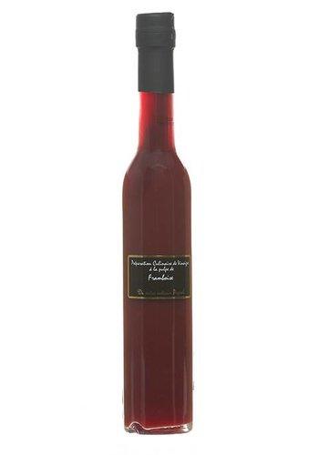 Préparation culinaire de vinaigre à la pulpe de framboise Popol  - 250 ml