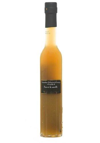 Préparation culinaire de vinaigre à la pulpe de poire et vanille Popol - 250 ml