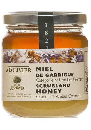 Miel de Garrigue À l'Olivier
