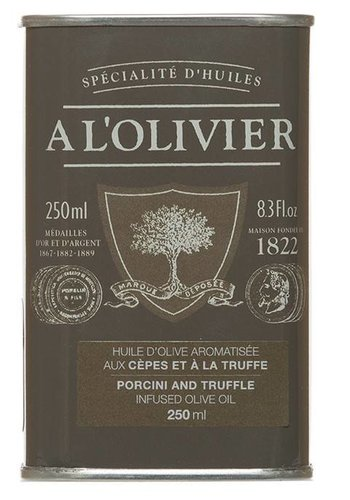 À l'Olivier Cepes and truffles olive oil - 250ml