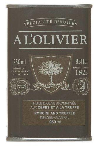 Huile d'olive cêpes et truffes À l'Olivier - 250ml
