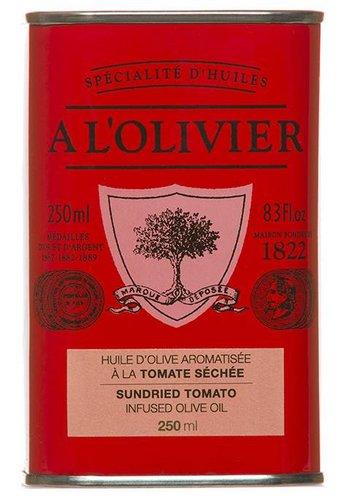 Huile d'olive Tomate séchée  À l'Olivier  - 250ml