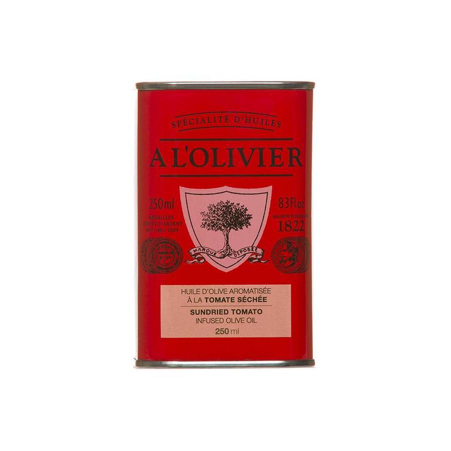 Huile d'olive Tomate séchee Bidon rouge  250ml
