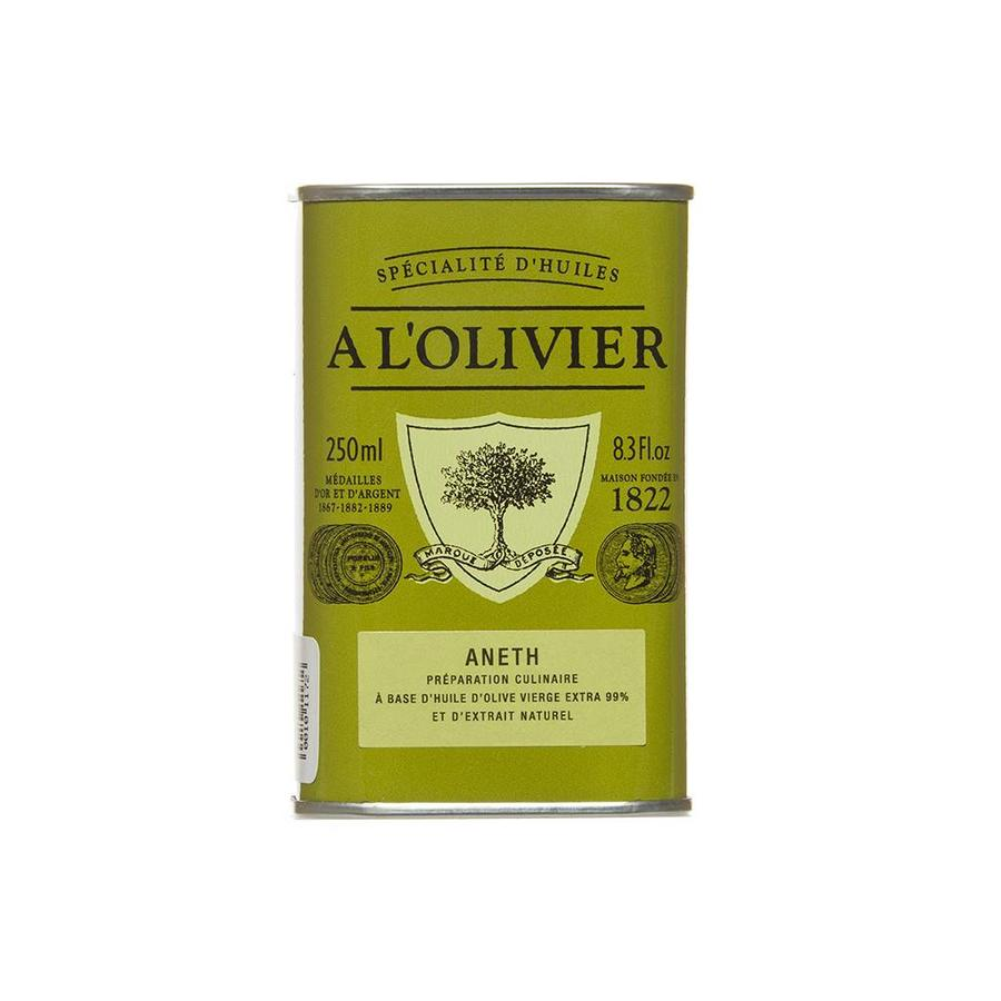 Huile d'olive à L'aneth À l'Olivier 250 ml