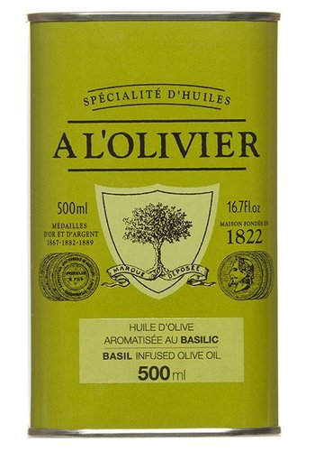 À l'OLIVIER Basil Olive Oil - 500ml