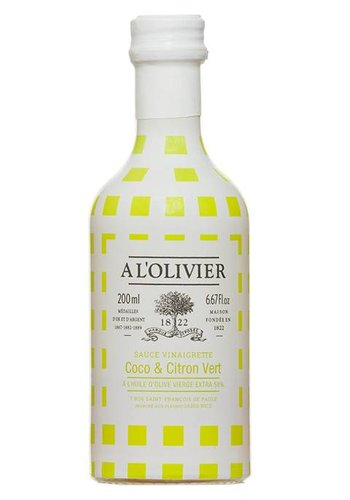 À l'OLIVIER Coconut and lime dressing - 250 ml