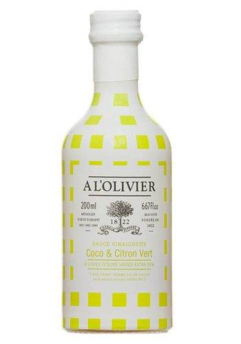 Vinaigrette coco & citron vert À l'Olivier - 250 ml