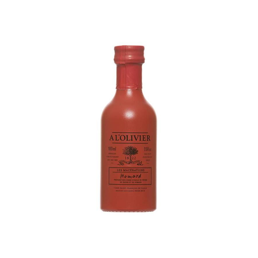 Huile de pépin de raisin avec extrait naturel de homard À l'Olivier - 100ml