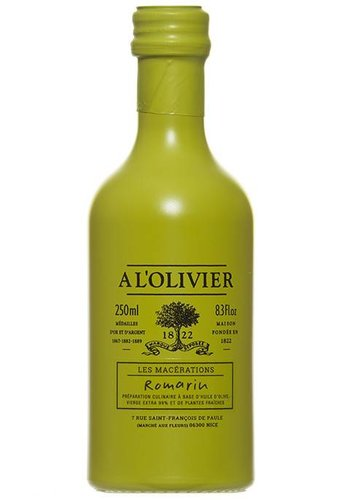 Huile d'olive Extra-Vierge au Romarin À l'Olivier 250 ml