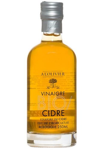 À l'Olivier Organic Cider Vinegar 250 ml