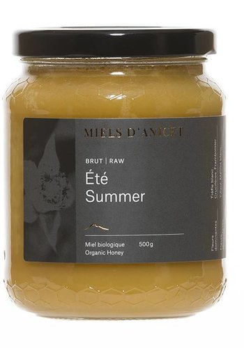 Organic Summer Raw Honey 500 g