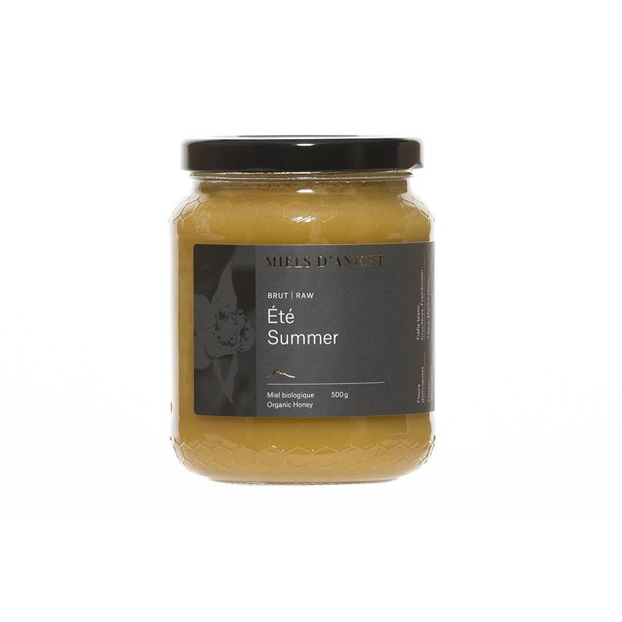 Organic Summer Raw Honey 500 g