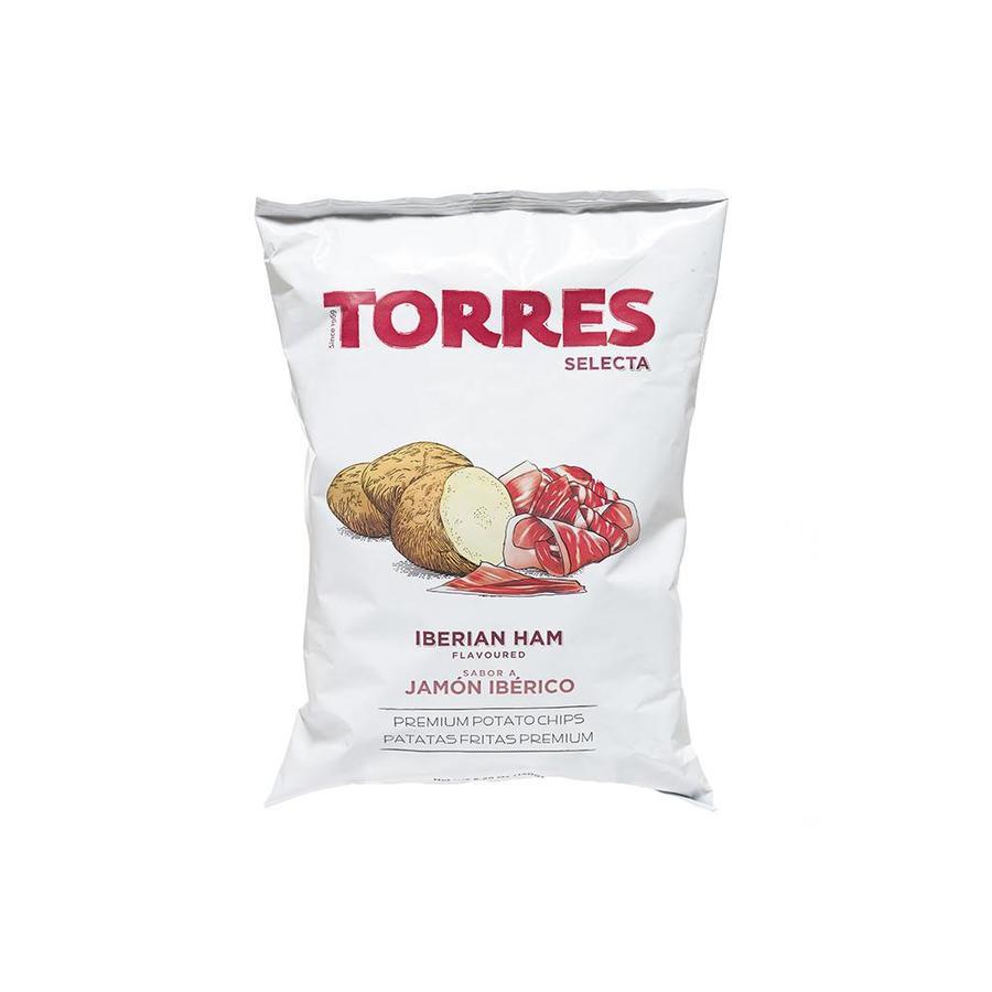 Croustilles TORRES jambon ibérique 150G