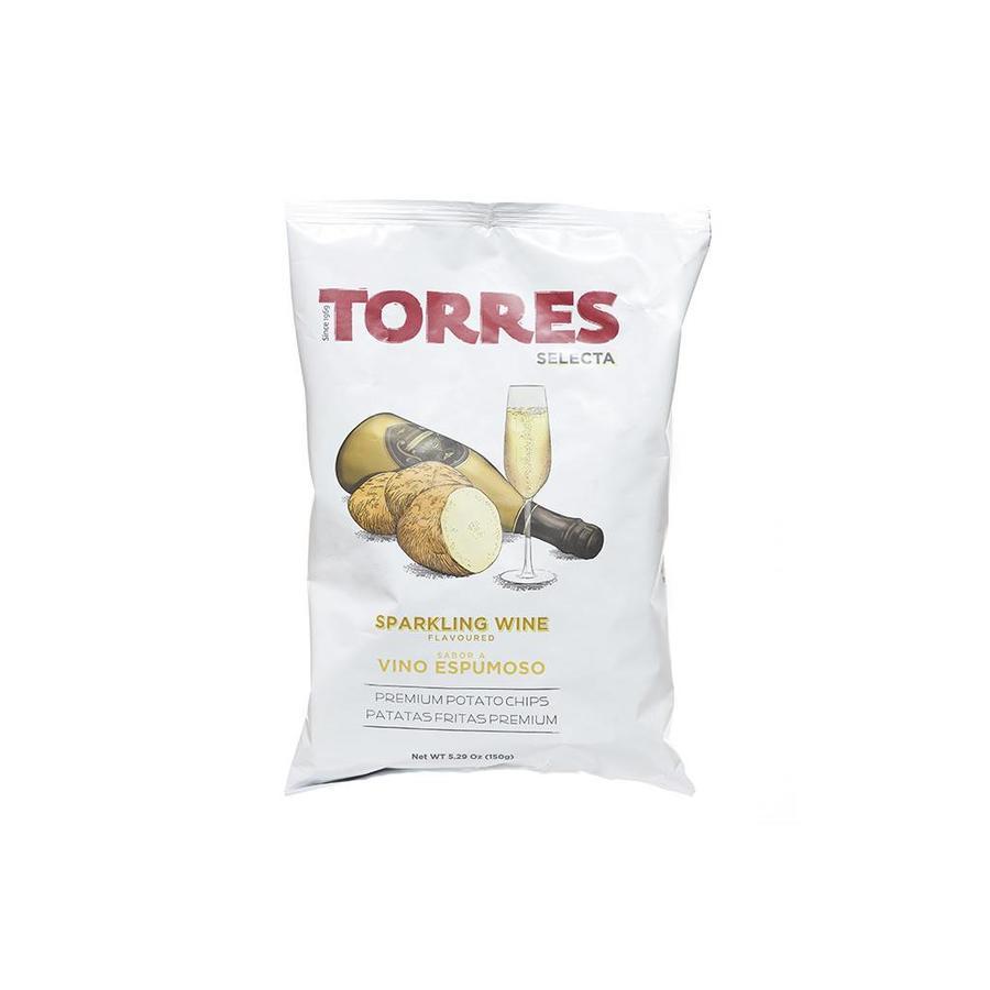 Croustilles TORRES vin mousseux 150G