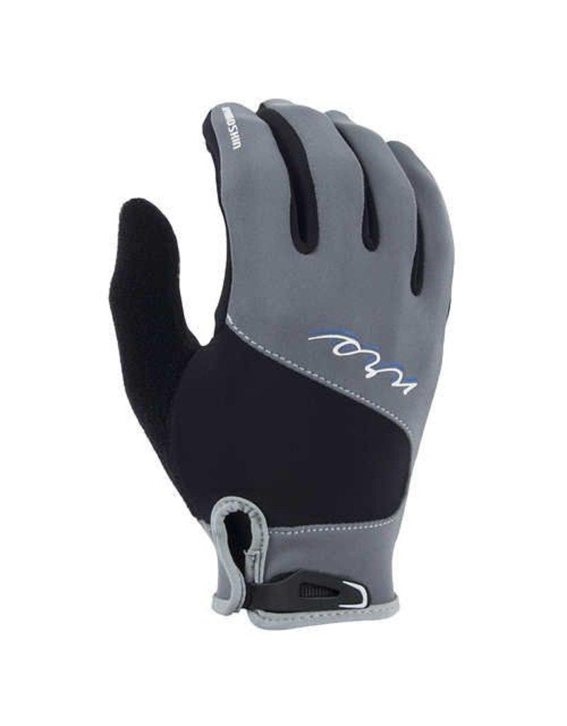 NRS NRS  HydroSkin Gloves Gray/Black
