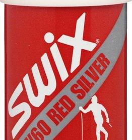 Swix V60 Red/Silver Hardwax 0/+3C, 43g
