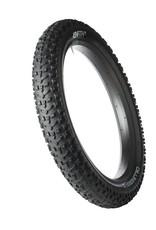 "45nrth Dillinger 5 Studded Fatbike Tire: 26 x 4.8"", 258 Concave Studs, Folding 120tpi, Black"